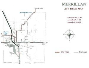 ATV Trail Map - Merrillan