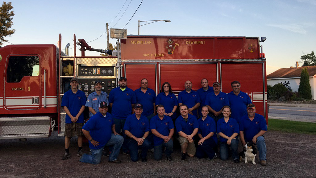 Fire Dept & EMS for Merrillan Wisconsin 2016